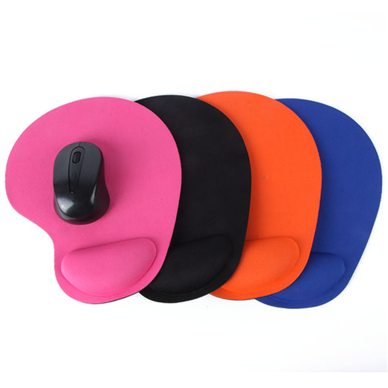 Mouse Pad Wrist Protect Optical Trackball PC Thicken Mouse Pad Soft Comfort Mouse Pad Mat Mice(China)