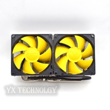 VGA Cooler, dual 90mm fan, 4 heatpipe, GTX980 970, r9 290 graphics card cooler, VGA Cooler fan, VGA fan, CoolerBoss GFH-409-02
