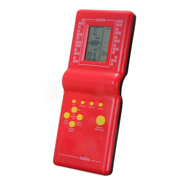 Brand New Top Selling Newest Childhood Classic Tetris Hand Held LCD Electronic Game Toys Fun Brick Game Riddle Educational Toys