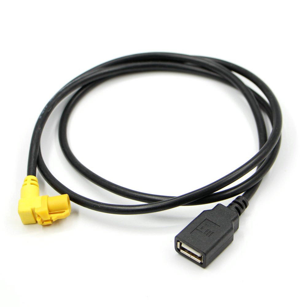 Apply to Bora Jette Polo Touran Tiguan BORA CC <font><b>PASSAT</b></font> <font><b>B6</b></font> B7L RCD510 RNS315 <font><b>USB</b></font> wire harness image