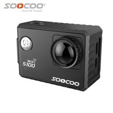 Действий камеры deportiva оригинальный soocoo s100 hd 4 К wifi 1080 P 2.0 жк 170d водонепроницаемый 30 м go pro спорт камеры