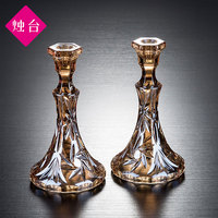 Household Candlelight Dinner Romantic Decoration Retro Candlestick Desktop Candlestick