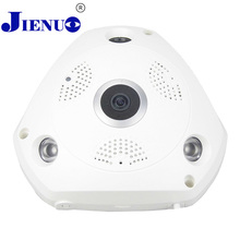 WIFI IP Camera 360 Fisheye Panoramic Dome Camera 1.0MP 720P ONVIF CCTV Night Vision Video home Surveillance Security P2P H.264