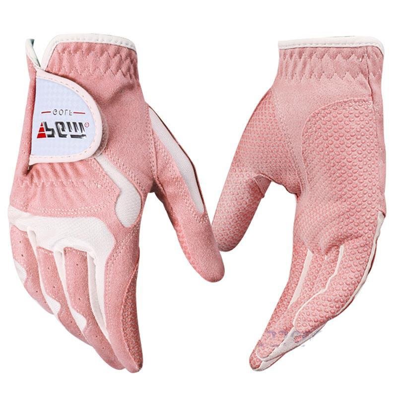 Microfiber Cloth Glove Price: PGM Women Golf Gloves Left Hand And Right Hand Wear