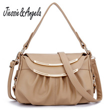 Jiessie Angela hot sale women bag bags handbags women famous brands leather bag fashion high quality