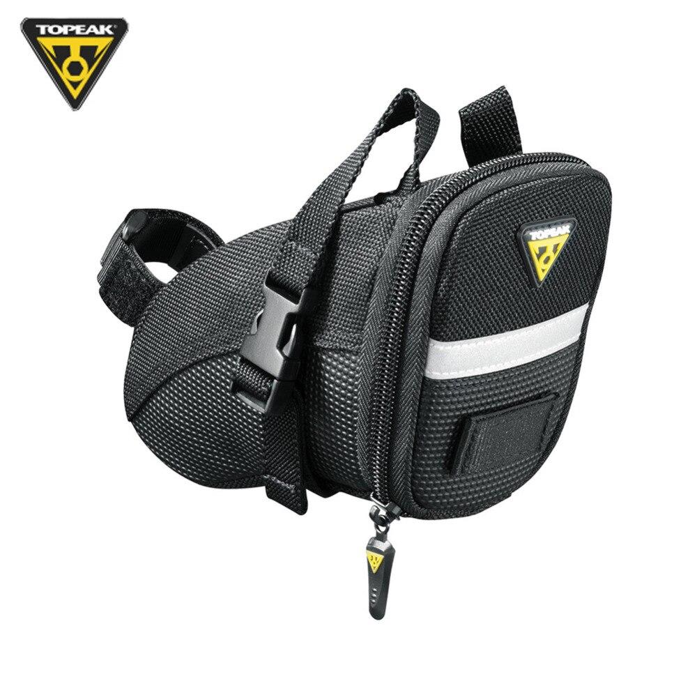 Topeak Aero Wedge Pack-Saddle Strap Mount-Seat Tool//Acc Holder-New-Bicycle-Small