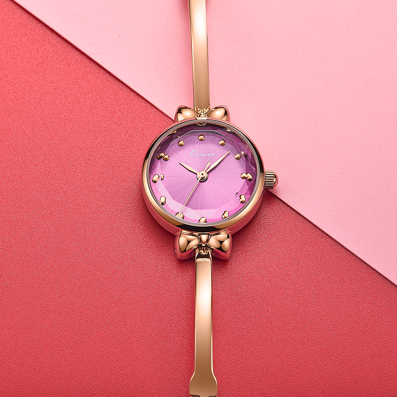 2018 Luxury Brand KIMIO Fanshion Quality bowknot Bracelet Quartz Watches crystal Woman Watches Ladies WristWatches with gift box цена 2017