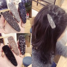 Korea Hair Accessories Flower Diamond Geometric Clips For Girls Crystal  Bows Hairpins Barrette 4