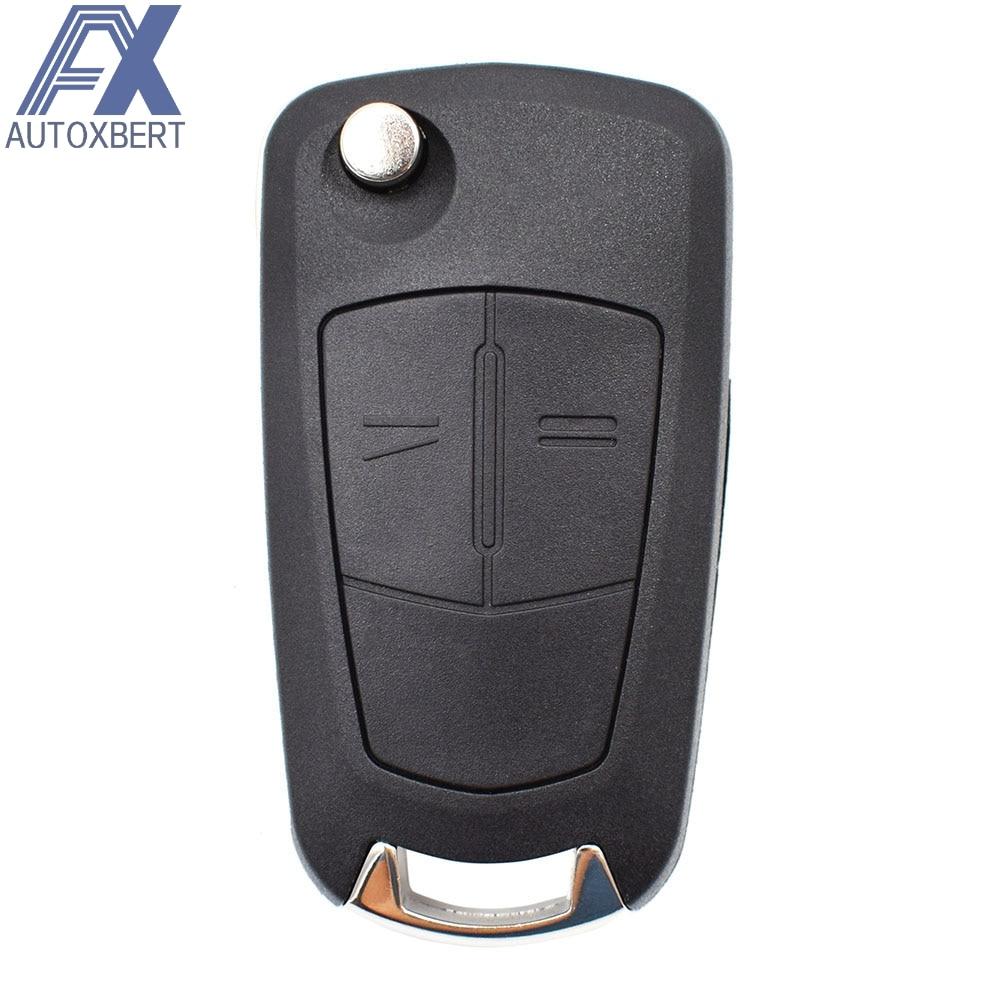 Чехол ключа дистанционного управления автомобилем корпус для Vauxhall Opel Corsa D Astra H Vectra Signum Zafira B Combo Meriva A Fob, замена 2 кнопки|Футляр для автомобильного ключа|   | АлиЭкспресс
