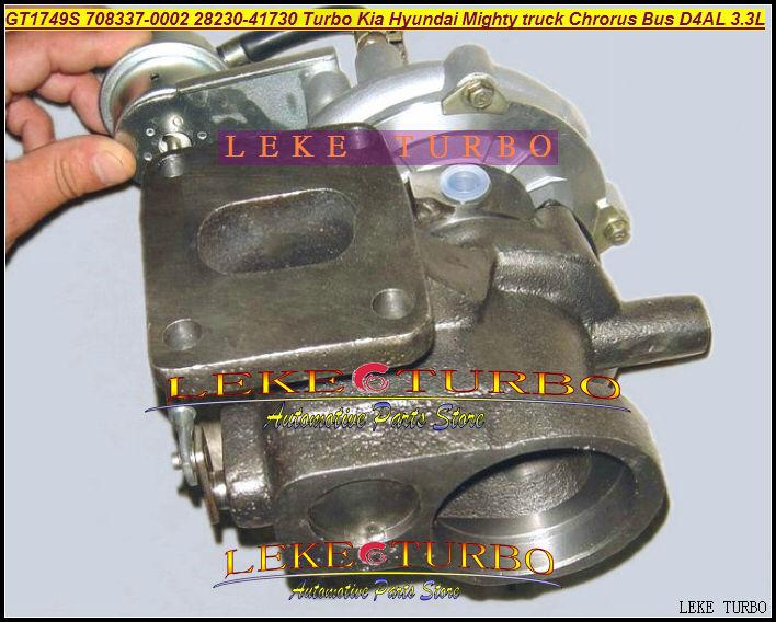 GT1749 708337 708337-0002 708337-5002 S 708337-0001 28230-41730 28230-41720 турбо для Hyundai может грузовик Chorus bus D4AL 3.3L