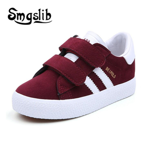 Image 3 - Kids Shoes Children Breathe Boys Sport Trainers Shoes Casual Baby School Flat Leather Sneaker 2020 Girls Sneaker Toddler Shoes