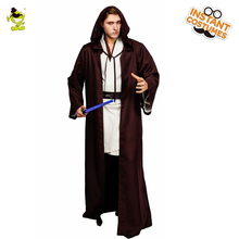 QLQ Men's Cosplay Movie Clothes Role Play Fancy Dress Jedi knight Halloween Costumes