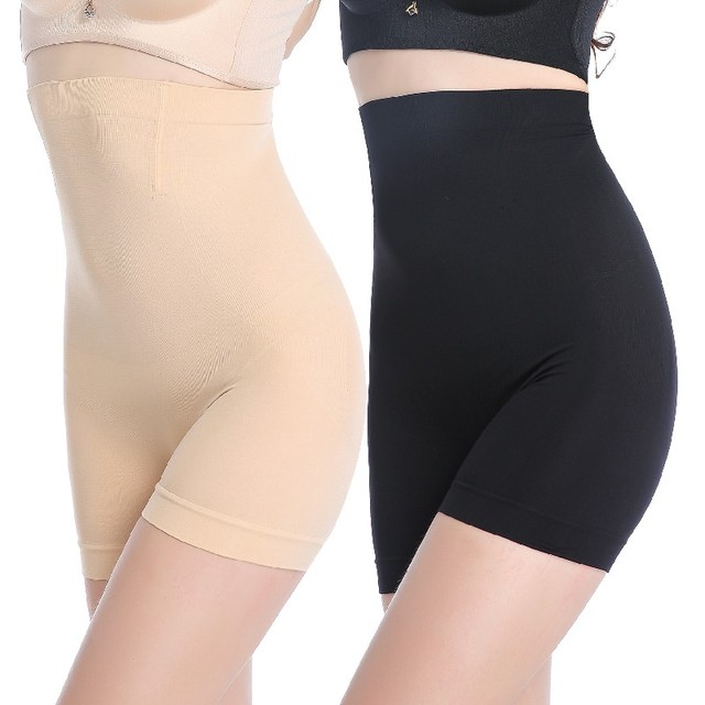 2017 new ice silk safety pants women boyshorts pants seamless short women five minutes black silk women silk ice safety underwea