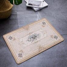 Европейский стиль ковёр для прихожей ПВХ Проволочная петля коврик