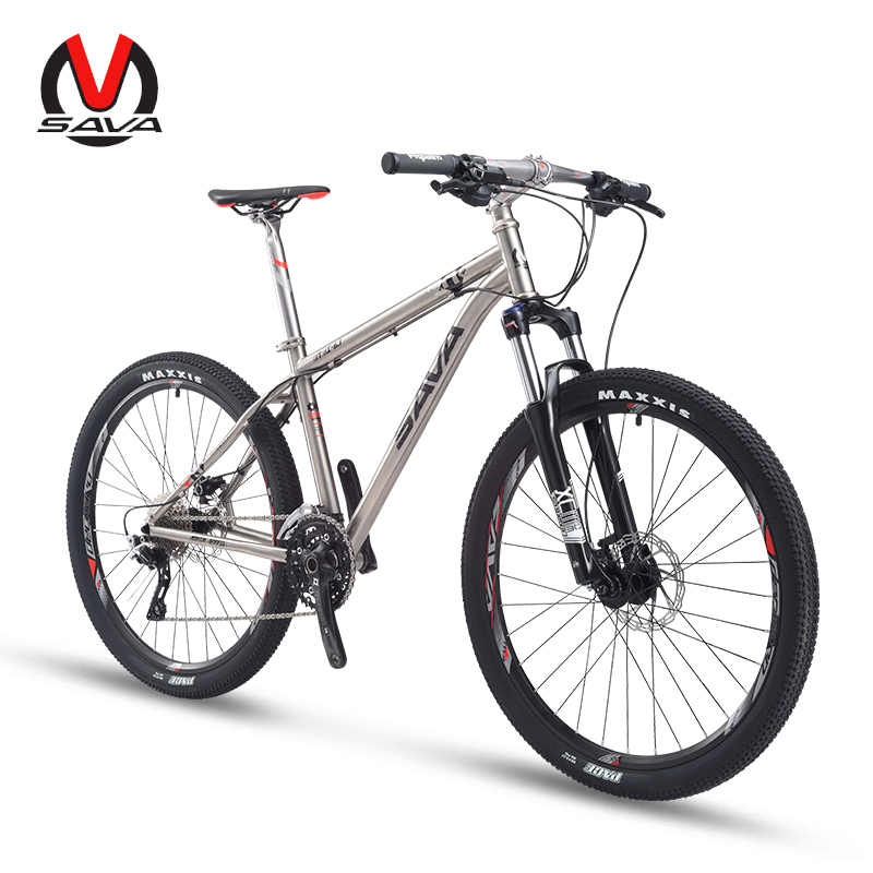 SAVA титановая рама для горного велосипеда, титановая рама для горного велосипеда DEORE M6000, 30 скоростей