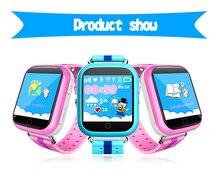 Q750 inteligente gps kid safe smart watch llamada sos ubicación Monitor de Localizador Del buscador Del Perseguidor Para Los Niños Contra la Pérdida Del Bebé Hijo reloj de pulsera