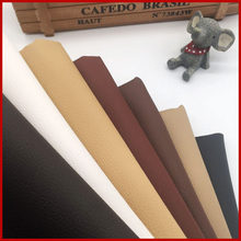 Artificial Leather For DIY Bag Material Fabric , Faux Leather Nice PU Leather 50*160cm Upholstery Furniture Fabric 0.65mm(China)