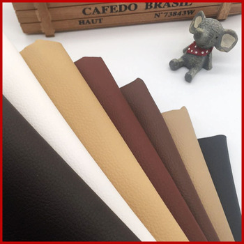 Artificial Leather For DIY Bag Material Fabric , Faux Leather Nice PU Leather 50*160cm Upholstery Furniture Fabric 0.65mm
