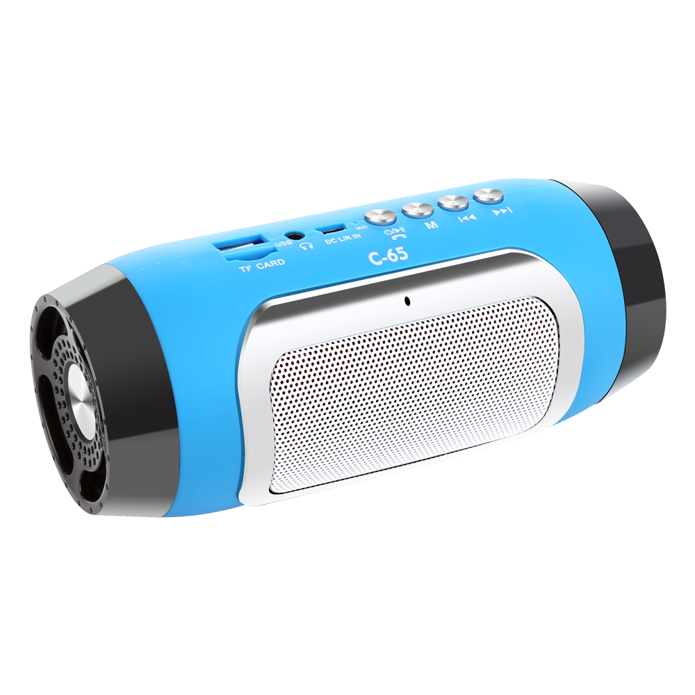 TOPROAD HIFI Portable Wireless Bluetooth Speaker With TF Support FM Radio And Sub Woofer Column Speakers 9