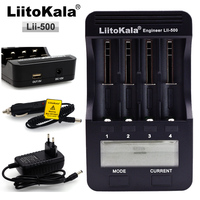 New Liitokala Lii500 LCD Charger For 3 7V 18650 26650 18500 Cylindrical Lithium Batteries 1 2V
