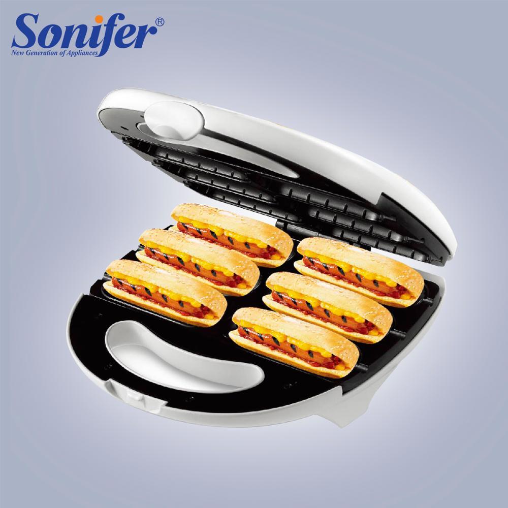 Electric Waffle Sausage Machine Crispy Hot Dog Lolly Stick Sausage Machine Cake Machine Breakfast Frying Pan Machine Sonifer