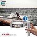 X-CAM Bluetooth 2 Axis Handheld гироскопа Gimbal Бесщеточный мобильный стабилизатор Self Selfie Палочки RC управления для iPhone Samsung xiaomi