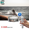 X-CAM Bluetooth 2 Axis Handheld gyro Gimbal Brushless mobile stabilizer Self Selfie Sticks RC control for iPhone Samsung xiaomi