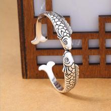 Новинка изысканные милые рыбки 925 пробы серебряные ювелирные