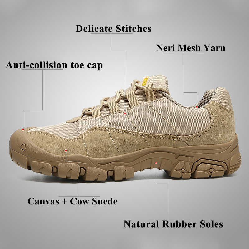 LAISUMK Koe Suède Arbeidsveiligheid Mannelijke Sneakers Schoenen Voor Mannen Volwassen Antislip Casual Militaire Leger Herfst Patchwork schoeisel