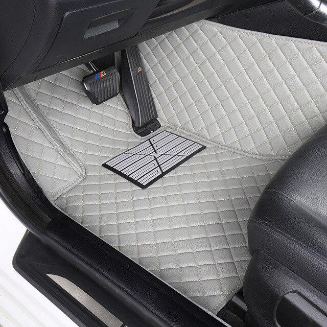 HLFNTF Custom car floor mats For all models D-MAX MU-X same structure interior car accessories styling floor mat