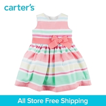 Carter's 1pcs baby children kids Striped Sateen Dress 120G135,sold by Carter's China official store