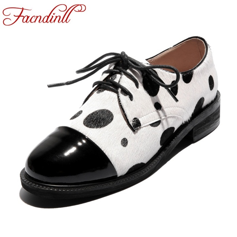FACNDINLL 2018 women pumps spring casual shoes square heel patent leather+horse hair lace up black round toe ladies dress shoes spring autumn women flats oxford derby brogue pu patent leather square toe lace up vintage sexy casual dress office ladies shoes