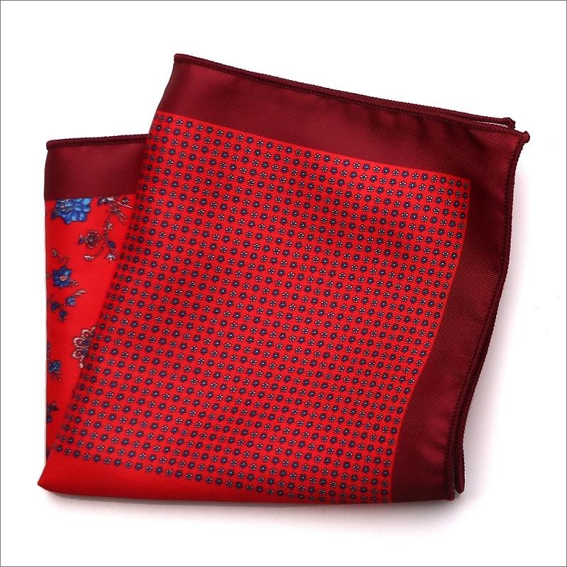 New Arrival 23 23cm Women Cotton Kerchiefs Multi use Square Hankies Sweat Printed Men Bridegroom Wedding Handkerchief Unisex in Men 39 s Ties amp Handkerchiefs from Apparel Accessories