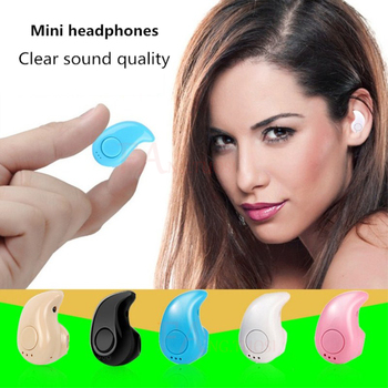 Mini Wireless Bluetooth Earphone in ear Sports with Mic Earbuds Handsfree Headset 1