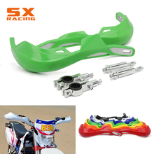 22MM 28MM Motocross Handlebar Handle bar Guards Protection For KAWASAKI KX KLX KXF KDX 60 80 85 125 150 250 450 KX250