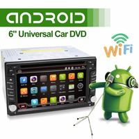 2din Android 4 4 Car DVD GPS Navigation Car Stereo Radio Car GPS 3G Wifi Bluetooth
