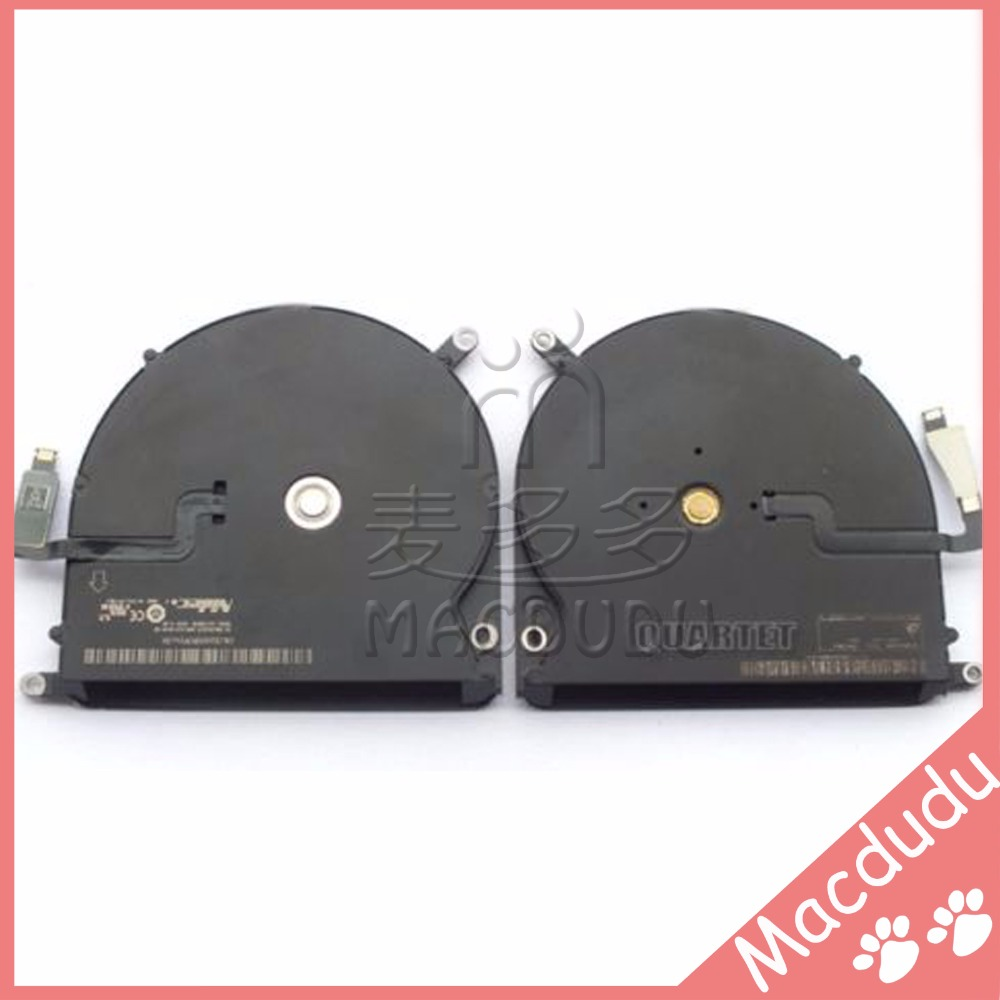 CPU Cooling Fan for 15.4 inch MacBook Pro Retina A1398 MC975 MC976 CPU Cooling fan Left+Right 2013-2015 laptop cpu cooler cooling fan for macbook pro retina 15 a1707 left right side fan set replacement late 2016