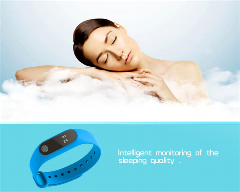 DTNO.I mi band 2 M2 Smart Bracelet Heart Rate Monitor Bluetooth Smartband Health Fitness Tracker SmartBand Wristband 5