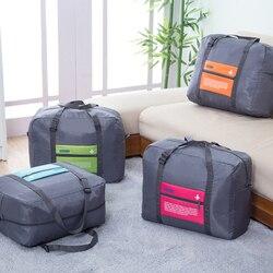 Ookc moda saco de viagem à prova dlarge água grande capacidade saco de oxford bolsa dobrável unisex bagagem viagem bolsas