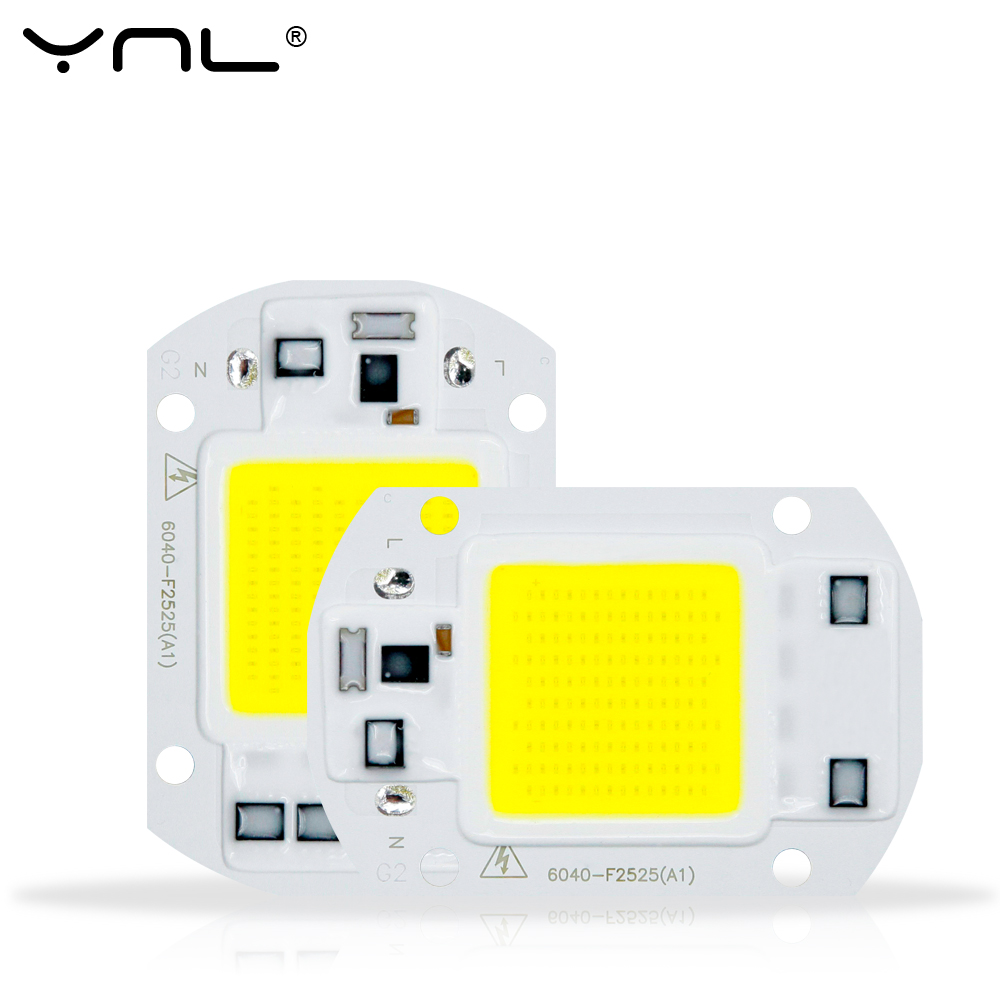 Smart IC <font><b>LED</b></font> COB Chip 50W 30W 20W 10W 220V No Need Driver 3W 5W 7W 9W <font><b>LED</b></font> Bulb <font><b>Lamp</b></font> for Flood Light Spotlight Diy Lighting image