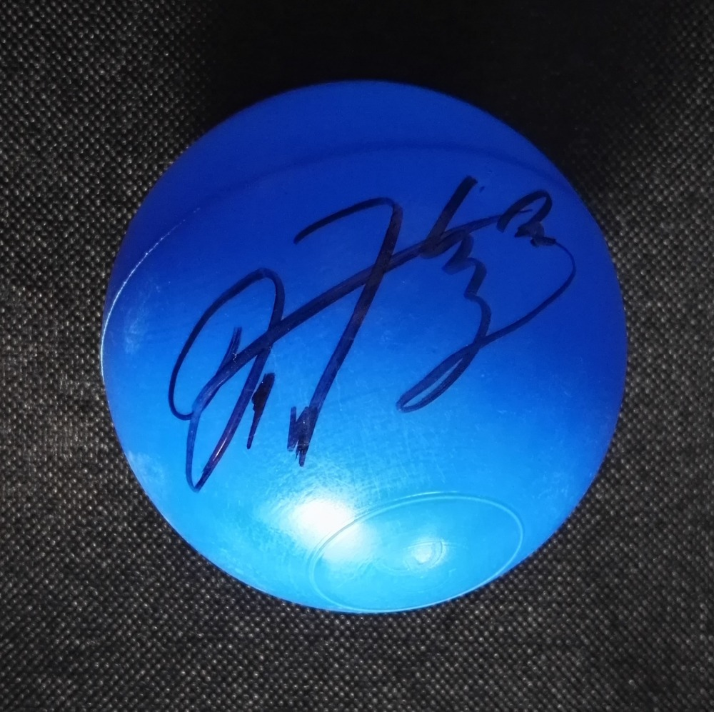 Signée à la main NCT RÊVE RENJUN REN JUIN autographiée concert balle K-POP 122018