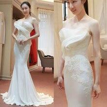 2016 Custom Made vestido festa formatura Top Quality Mermaid Skirt Handmade Long Lace Evening Dress Party