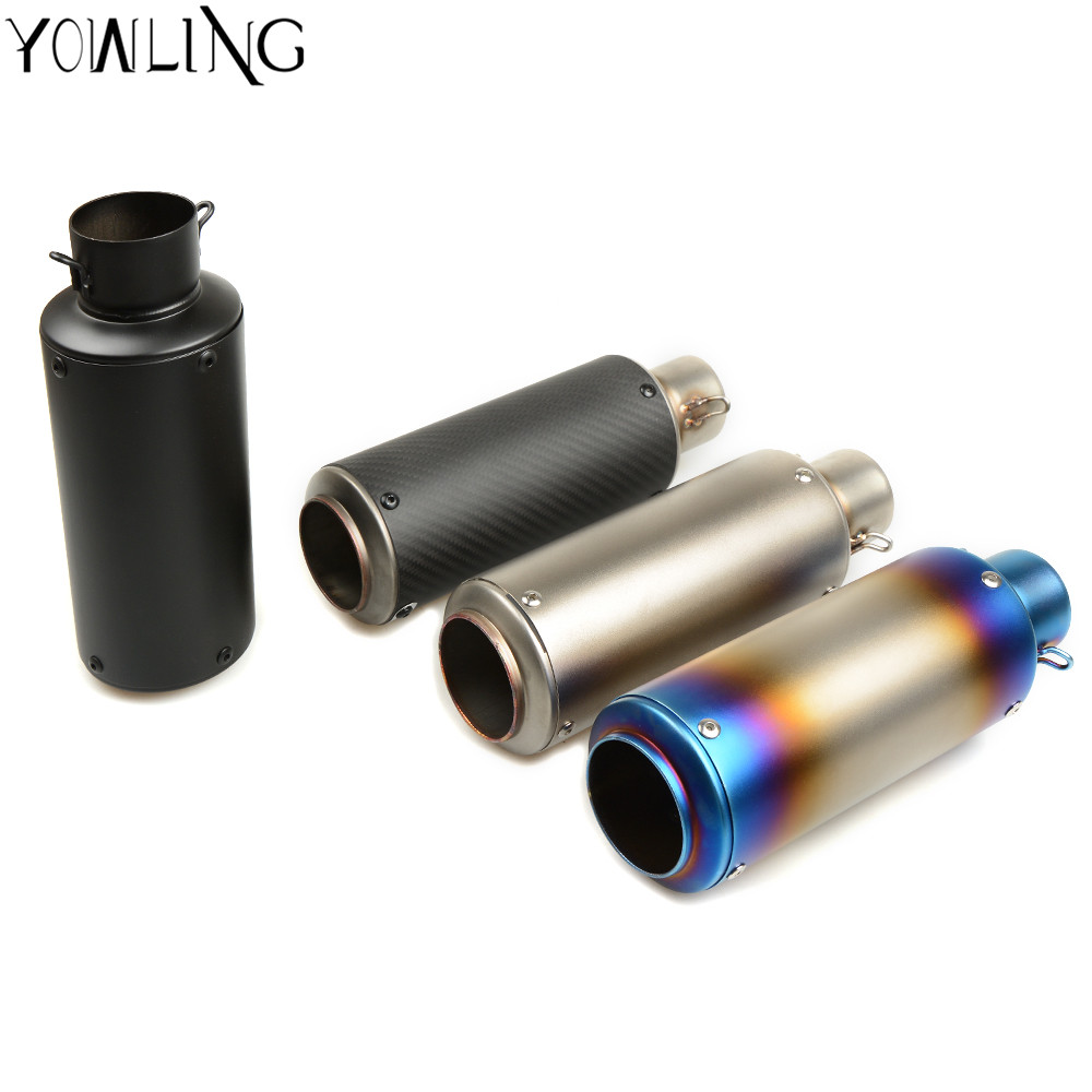 Motorcycle Exhaust Pipe Scooter Modified Muffler pipe For Suzuki GSXR600 GSXR750 GSXR1000 SV 650 650S 1999-2016 T-MAX500 TMAX530