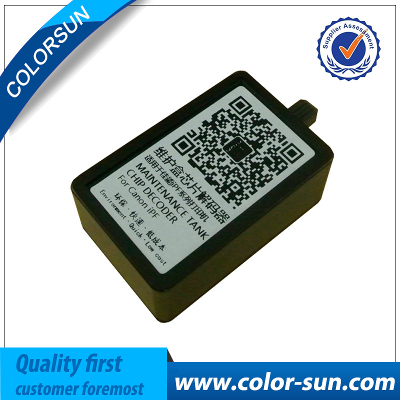 Maintenance Tank Chip Resetter for IPF Series MC 05-10 For Canon iPF500/510/5100/600/605/610/6300/6300s printer free shipping good price mc 05 maintenance box resetter for canon ipf500 waste ink tank