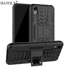 Cover Huawei Honor 8S Case Armor Heavy Duty Hard PC Rubber TPU Back Phone Cover for Huawei Honor 8S Case for Huawei Honor 8S sweet bowknot pattern pc back case cover for huawei honor 6 beige black