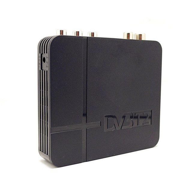 Caixa de TV DVB T2 TV Digital Terrestrial Receiver DVB-T2 MPEG-2/-4 Suporte H.264 HDMI Set Top Box Para europa/Rússia/Columbia DVBK2U