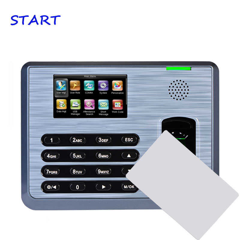 TX628 13.56mhz IC Reader TCP/IP Biometric Fingerprint Time Attendance Employee Electronic Attendance With Fingerprint Reader