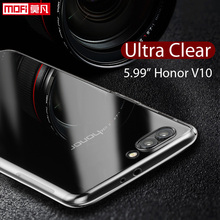 Huawei Honor V10 Case Huawei Honor V10 Case Cover Silicone Ultra Thin Back TPU Funda Mofi Back Clear 5.99 Huawei Honor V10 Case цена