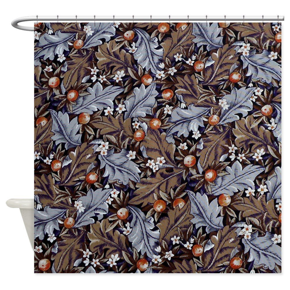 Angeli Landante By Morris - Decorative Fabric Shower Curtain (69x70)