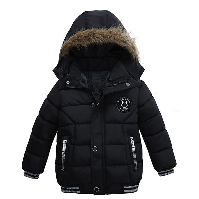 1013ffe77 Bebés de LZH Niños chaqueta 2018 Otoño Invierno Chaquetas para Niños  invierno chaqueta niños Abrigo con